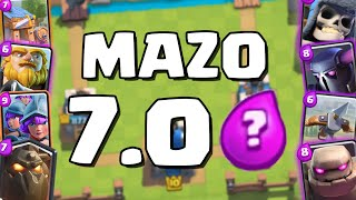 ¡¡MAZO 7.0 ELIXIR!! - ¿FUNCIONA? | Clash Royale