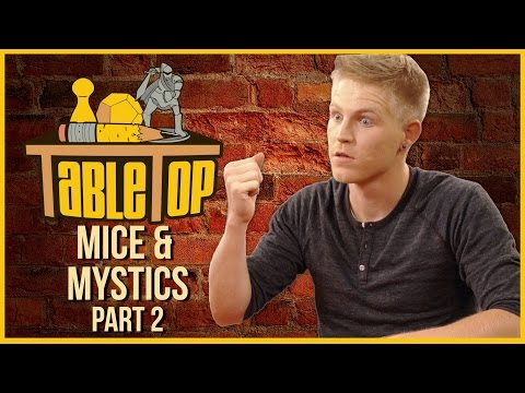For Part 2 of the TableTop Season 3 finale, Wil sits down with his family to continue their journey to take back the castle in the tabletop RPG-in-a-box, Mice and ...