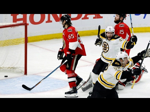Kuraly ends double OT to lift the Bruins over Senators in Game 5