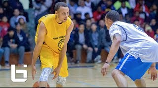 Stephen Curry SF Pro Am RAW Footage Highlights Of 43 Point Performance