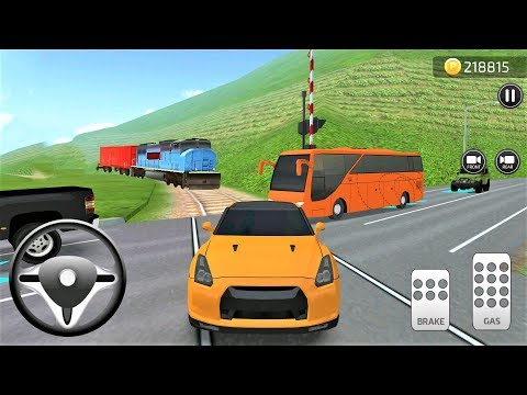 Parking Frenzy 3D Simulator Cars SUV Orange And Bus #31 - Best Android Gameplay