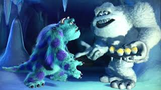 (Monsters Inc.) Mike & Sulley meet the Abominable Snowman