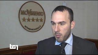 Manlio Di Stefano - servizio al Tg1 12/3/2018 ore 13