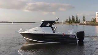Quintrex 610 Hardtop Boat Review 200 HO G2 ETEC | Caloundra Marine Australia's best Quintrex pricing