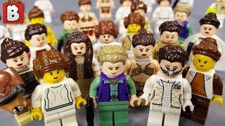 Every LEGO Princess Leia Minifigure EVER MADE   2019 Update!