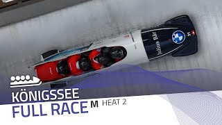 Königssee | BMW IBSF World Cup 2020/2021 - 4-Man Bobsleigh Heat 2 | IBSF Official