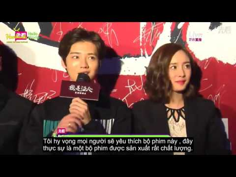 [Vietsub] 151028 The Witness Premiere Red Carpet - Luhan
