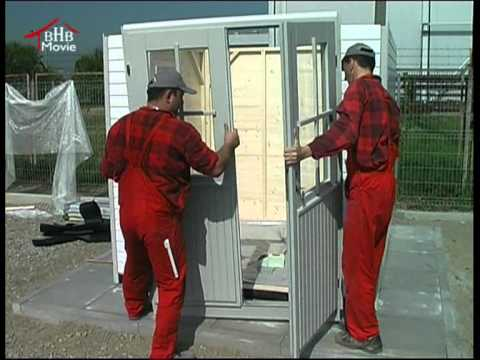 "Assembly video ""Prefabricated houses"""