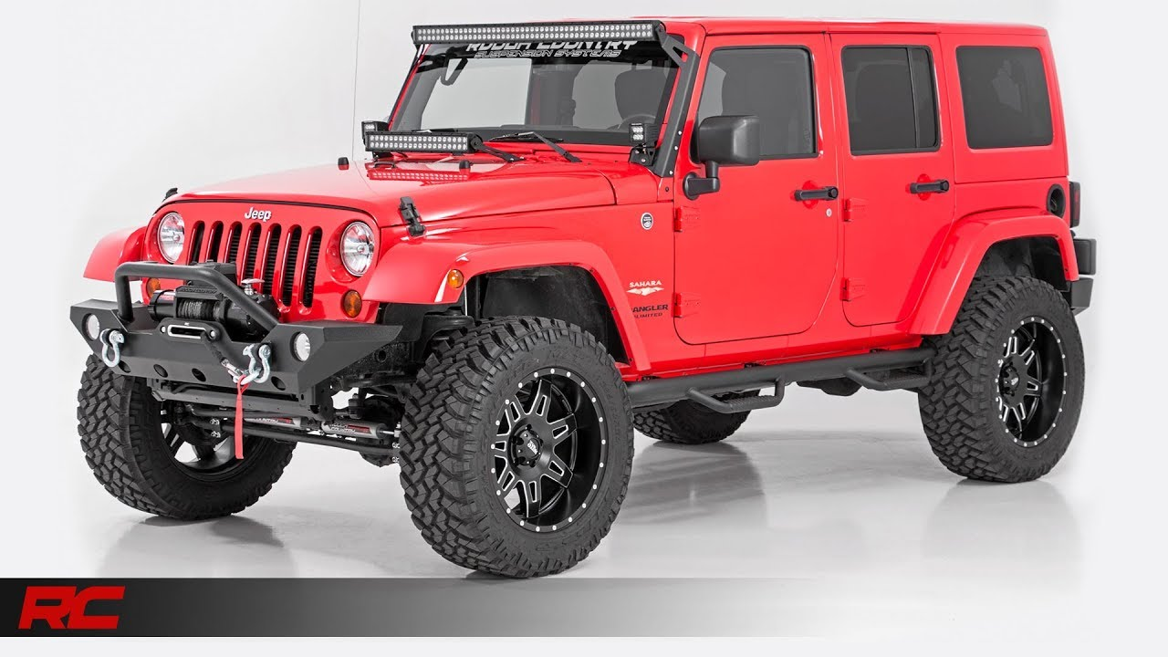 2013 Jeep Wrangler Unlimited Sahara Rock Lobster Red Stage