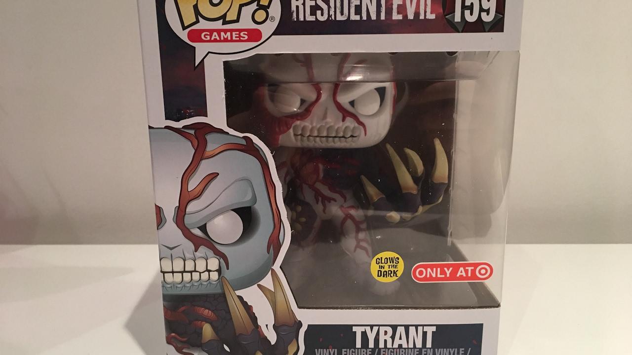 "POP Funko #NEW VINYL ~ Resident Evil Tyrant Glow in the Dark 6/"" Vinyl Figure"