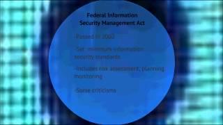 Presentation on Laws Regarding Information Security