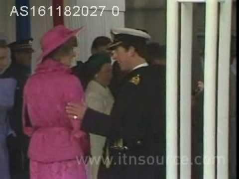 Princess Diana meets Queen Beatrix