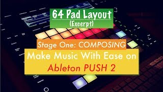 18. 64 Pad Layout on Ableton PUSH 2 (Excerpt)