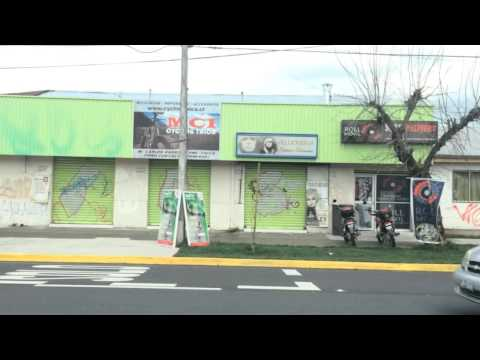 Timelapse iPhone 5s - Travel by bus in Talca Chile