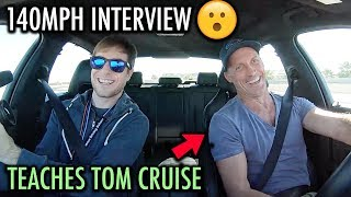 140mph With Tom Cruise'S Driving Coach! - The Genius Behind Mission Impossible Stunt Driving