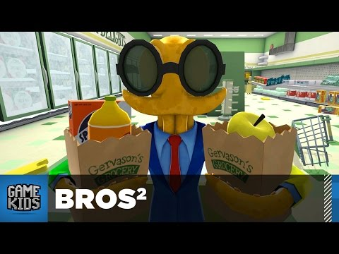 4 Player Octodad Dadliest Catch Part 3 - Bros²