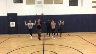 Nathan Blake of Blake Tv Teen dance class