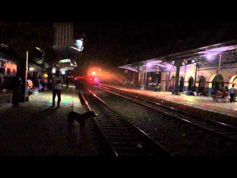 Honking Bareilly Allahabad Express thrashing Balamau Jn