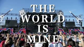 SPYAIR 会場限定シングル「THE WORLD IS MINE」発売告知