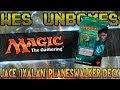 Wes Unboxes - Magic: The Gathering - Jace (Ixalan) Planeswalker Deck