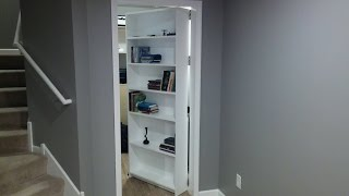 Video Secret door, room. Bookcase - door. Safe. Gun storage download MP3, 3GP, MP4, WEBM, AVI, FLV September 2017