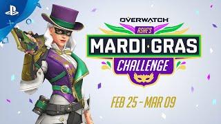 Overwatch - Ashe's Mardi Gras Challenge | PS4