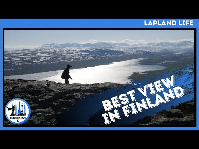BEST VIEW in Kilpisjarvi, Lapland, Finland.  Saana and Salmivaara. Things to do in Lapland in summer