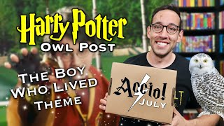 THE ACCIO BOX July 2021 | THE BOY WHO LIVED | Harry Potter Unboxing