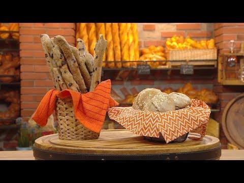 خبز بونواتون المملح + خبز بونواتون الحلو / مخبزتي / فاطمة الزهراء بوعدو حفصي / Samira TV