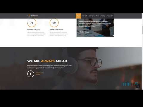Barnaul - Business Consulting and Professional Services HTML Template