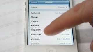 How to Factory Unlock any AT&T iPhone 5 / 4S / 4 / 3GS / 3G