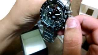 Unboxing - Aliexpress - Relógio CASIO Red bull racing