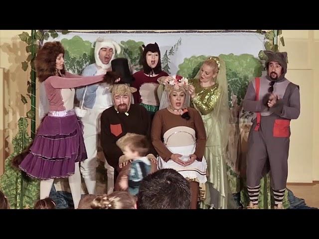 MEDVEDOVA ŽENIDBA - opera za decu