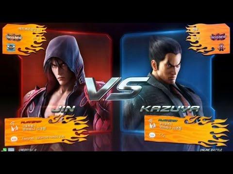 Tekken7 Jin(Cherryberrymango) vs kazuya(Keltoo) korea online battle