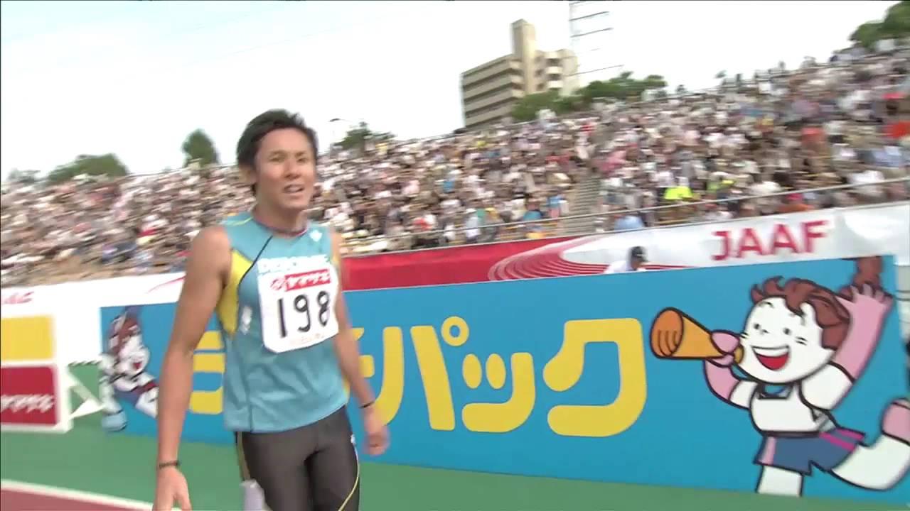 男子110mH 決勝 第100回日本陸上...