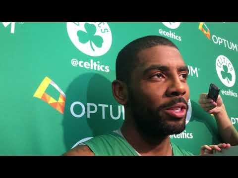 Kyrie Irving talks opening game against Cavaliers | ESPN