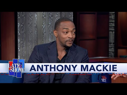 Anthony Mackie Is The New Captain America And Stephen Is The New Falcon
