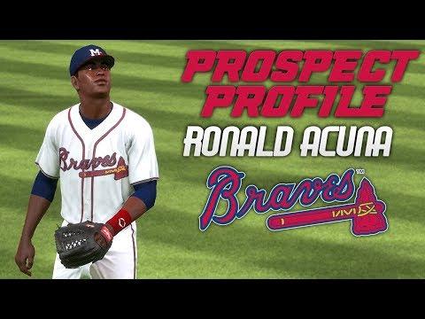 MLB The Show 17: Braves Franchise - Ronald Acuna Prospect Profile