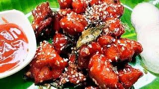 How to make Honey Chicken | Honey Chicken Recipe in Tamil | Chicken Honey Chilli Recipe