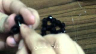 Repeat youtube video طريقه عمل مفرش سداسي  مستطيل من الخرز