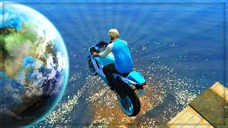 GTA 5 Funny Moments Extreme SPACE RACE | GTA Gameplay - (GTA 5 Online Funny Moments)