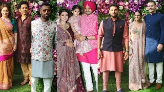 Mumbai Indians Team At Akash Ambani Wedding Ceremony