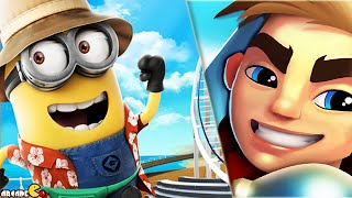 Despicable Me 2 Minion Rush vs Blades of Brim