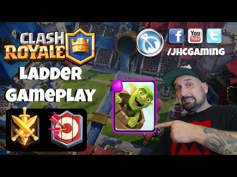 Rocket Challenge fails, Ladder Gameplay, Sponsor Button hype! - Clash Royale
