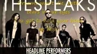 High - The Speaks with lyrics