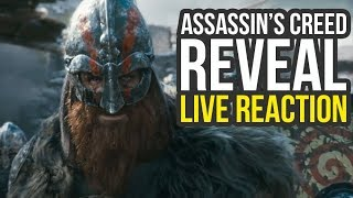 New Assassin's Creed Game SETTING Reveal Live Reactions (Assassin's Creed Ragnarok)