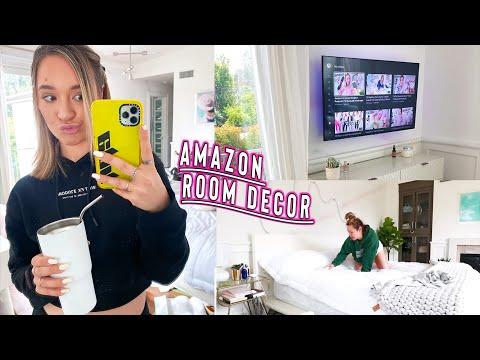 Amazon Room Decor From Tik Tok + Mini Whitefox Haul!!