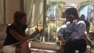 """""""لها"""" تلتقي المصمم العالمي ستيفان رولان في بيروت: أميرة عربية كانت وراء انتشاري في الخليج وفستانها كان حديث البلد"""
