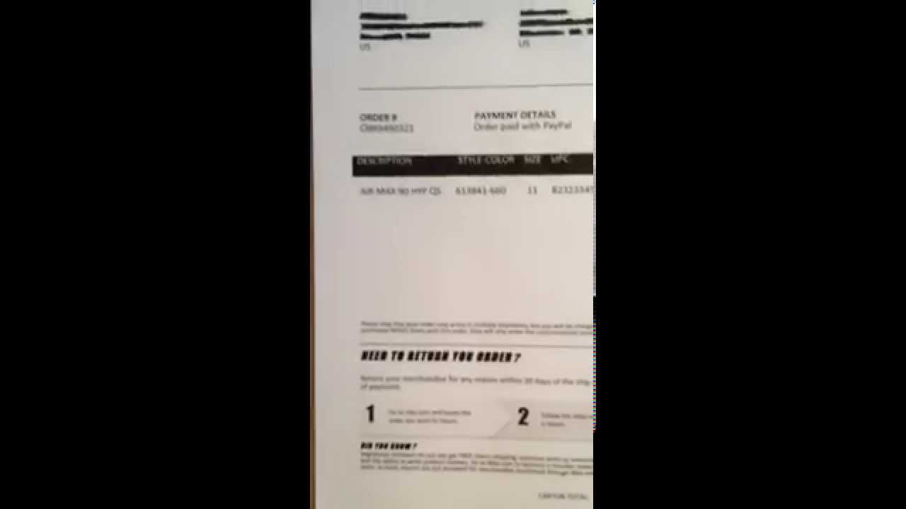unauthorized nike receipt yeezy 2 air max 90 independence