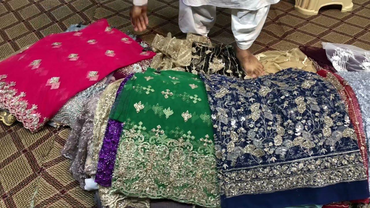 Eid-ul-Adha Sale Handwork Cutdana   Party Wear Shirts   Rs.3500